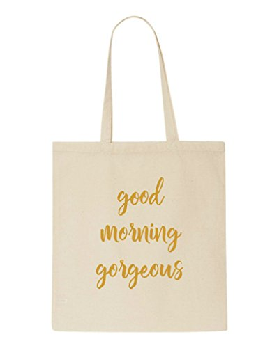 Gift Matching Party Wedding Morning Gold Shopper Gorgeous Beige Good Engagement Tote Bag txq6Ow0Wp
