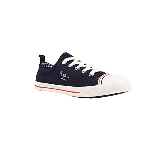 PLS30657 BASKETSS Blue Jeans Pepe 585MARINE wpnqwfgZ