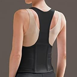Cincher Female Back Support Medium Black