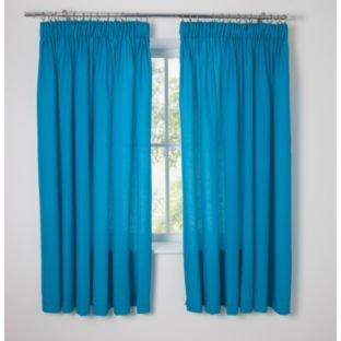 Curtains Ideas Bright Teal Curtains : Simplistic Yet Bright Kidsu0027 Fiesta Blue  Curtains   168