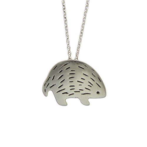 Mark Poulin Womens Pewter Necklace Platypus 18 Chain
