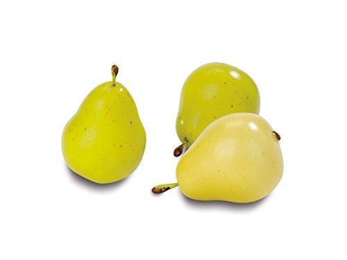 Plastica Floracraft design it Simple decorative Fruit 9/pkg-giallo e verde pere