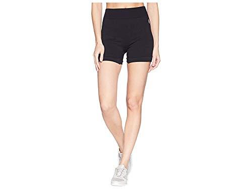 Free People Movement Women's Seamless Shorts Black Medium/Large 5 (Free People Shorts)