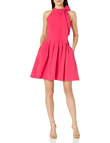 Vince Camuto Women's Fit and Flare, Watermelon, 4