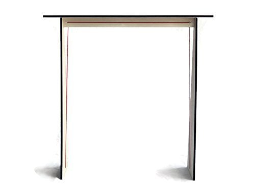 28x7 Inches wood narrow console table for hallway in many colors as white Skinny contemporary design behind sofa tables Living room entryway foyer bedroom radiator cover 70cm wide high 18cm depth