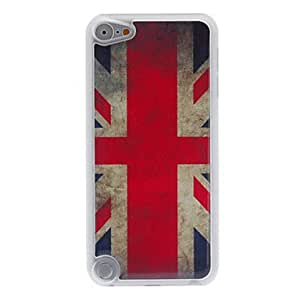 QYF Retro Style English Flag Pattern Epoxy Hard Case for iPod Touch 5