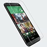 SNOOGG HTC Desire 820 Full Body Tempered Glass Screen Protector [ Full Body Edge to Edge ] [ Anti Scratch ] [ 2.5D Round Edge] [HD View] – White