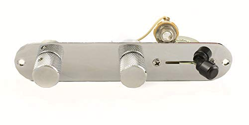 Fender Telecaster 4 Way Wiring Harness w/Control Plate & Knobs-CTS-Switchcraft-Oak/Grigsby-Sprague