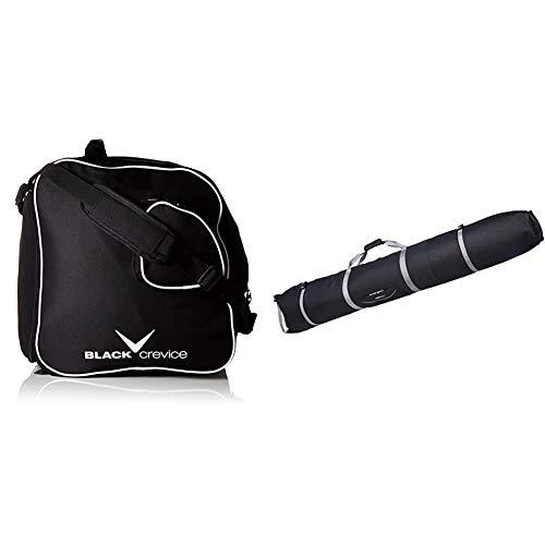 Black Crevice Skischuhtasche