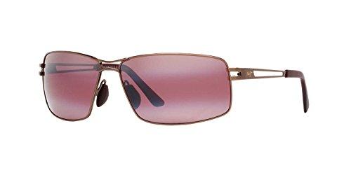 Maui Jim Mens Manu Sunglasses (276) Gold/Bronze Metal - Polarized - - Maui Jim Sunglasses Mala