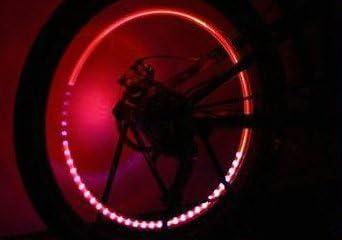 Edelsign - 2 tapones de válvula de rueda con luz led para ...