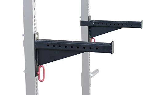 Safety Lifting Arms : Spotter arms for t hd power rack with ″ tubes bench