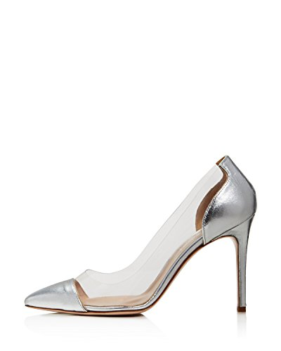 Charles David Women's Pump Silver sale 100% original largest supplier online cheap choice cheap visa payment fashion Style online PlPvY