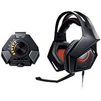 Asus STRIX DSP - Auriculares gaming con microfóno (reducción de ruido y estación de audio plug and play), negro