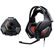 ASUS STRIX DSP Gaming Headset 60mm Drivers Noise Cancellation Multi Spectrum Profiles - (Headsets Mi