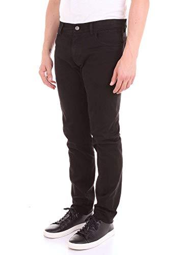 Uomo Pantaloni Cotone Nero E Dolce Gabbana G6qjltg8t69n000 qtZgz