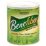 Benefiber Soluble Dietary Fiber 7.2 oz can