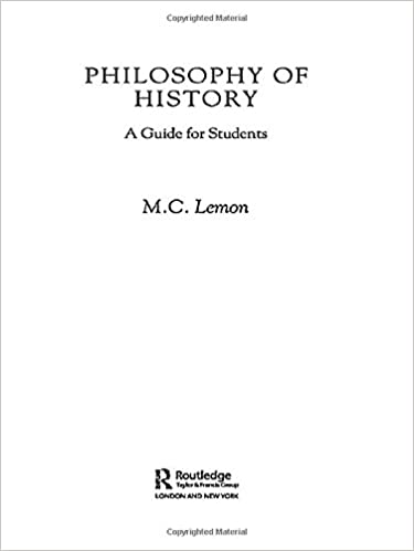 Amazon com: Philosophy of History: A Guide for Students