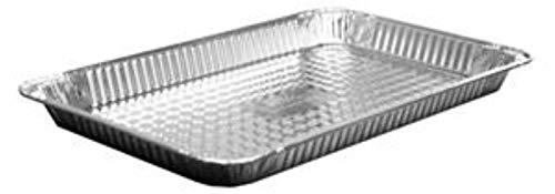 - Handi Foil Shallow Steam Table Pan - Full Size, 176 Fluid Ounce Capacity - 50 per case.