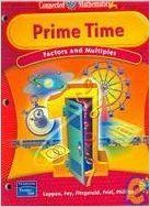Download Prime Time: Factors and Multiples - Grade 6  (Connected Mathematics 2, Teacher's Guide) ebook