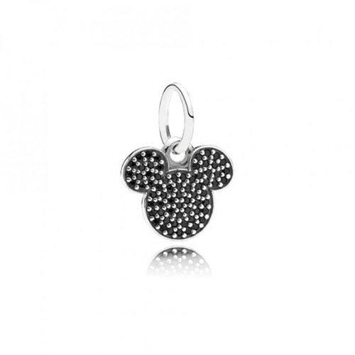PANDORA Disney Jewelry Collection Sparkling Mickey Icon Charm Disney Collection Mickey Icon