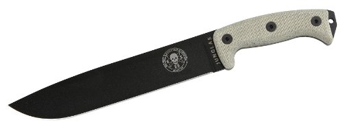 ESEE-Junglas-Blade-with-Kydex-Sheath-Canvas-Micarta-Handles-Black