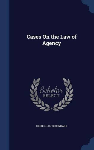 Download Cases On the Law of Agency pdf epub