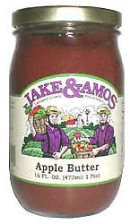 Apple Butter 3 jars: Jake and Amos