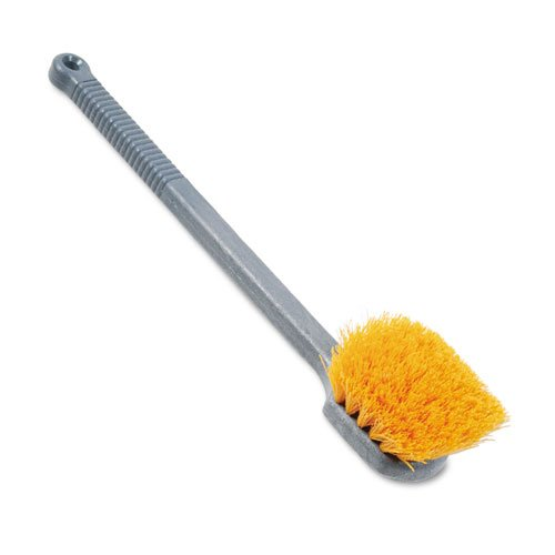 (Rubbermaid Long Handle Utility Brush, 20