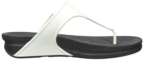 Sandal Women's Rubber Jelly Superjelly Urban Flops fitflop Flip White PaOqUq