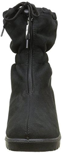 Romika Varese 45, Zapatillas de Estar por Casa para Mujer Noir (Schwarz 100)