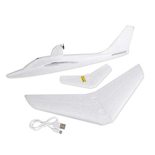 Electric Glider Airplane Toy, DIY Plane EPP Foam Hand Throwing Airplane Fixed-Wing Model Toy The Gift for Children Kids
