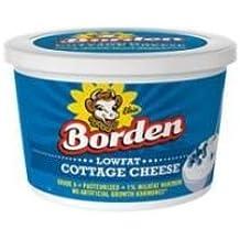 Borden Low Fat Cottage Cheese, 16 Fluid Ounce -- 6 per case.