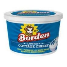 Low Fat Cream Cheese (Borden Low Fat Cottage Cheese, 16 Fluid Ounce -- 6 per case.)