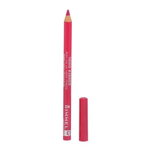 RIMMEL LONDON Lasting Finish 1000 Kisses Stay On Lip Liner Pencil - Indian Pink 004 INDIAN PINK