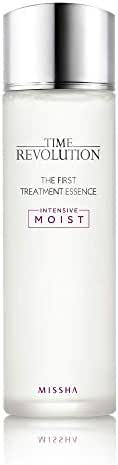 Missha Time Revolution The First Treatment Essence Intensive Moist 150ml-Kbeauty concentrated essence with moisturizing antioxidants to condition, clarify, refine for smooth texture and extra moisture