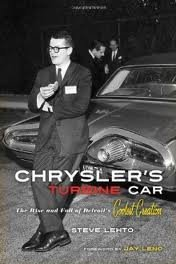 Chrysler's Turbine Car (Motor Cars General Interest) Publisher: Chicago Review Press