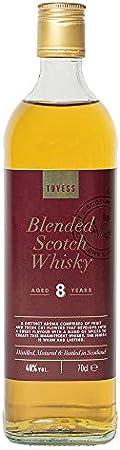 Tovess Whisky escocés de mezcla 8 años - 700 ml