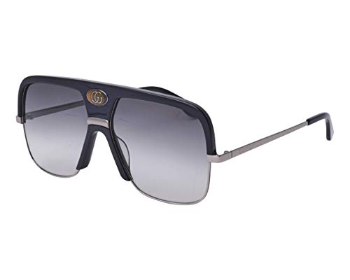 Sunglasses Gucci GG 0478 S- 001 BLACK/GREY RUTHENIUM