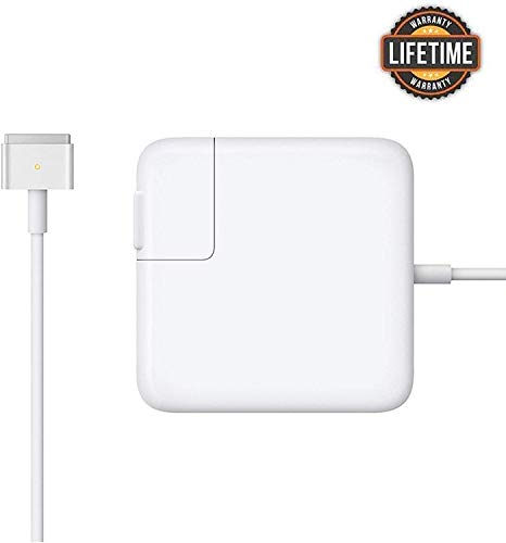 Mac Book Air Charger, 45w T-Type(45T) Replacement Power Adapter for Mac Book Air 11-inch / 13 inch