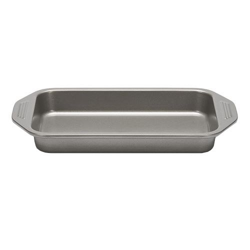 Patisse Carat Brownie Pan Heavy Duty with Double Non-Stick Coating, Dark Grey Metallic