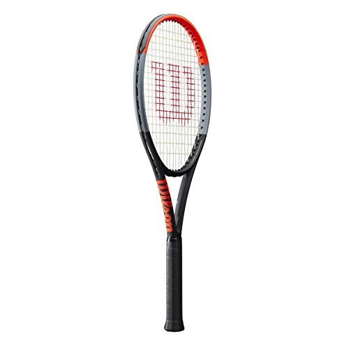 Wilson Clash 100 Tour Tennis Racquet (4 3/8 Inch Grip Size) with Black Strings
