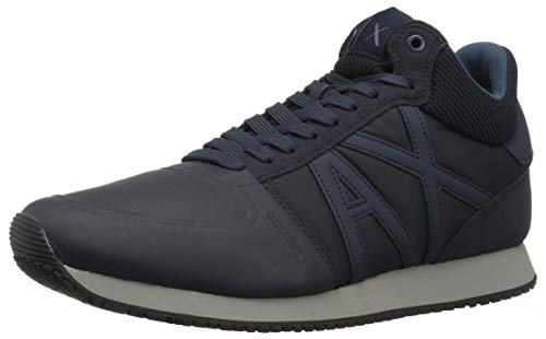Navy india Running Exchange Ink Men X Armani A Retro fHYzfq