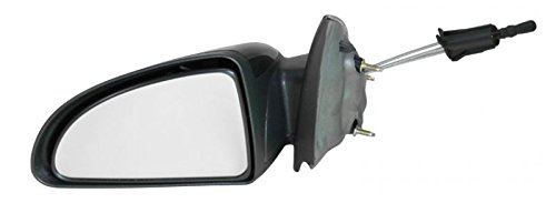 Manual Remote Side View Mirror Driver Left LH for Chevy Cobalt G5 4 Door Sedan ()