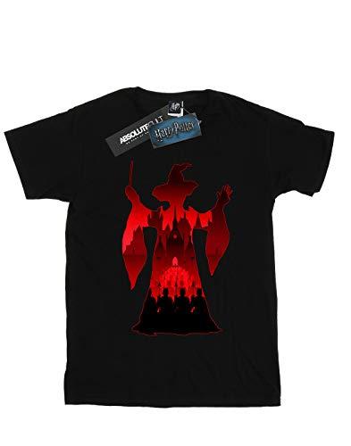 Mcgonagall Minerva Silhouette T Noir Garçon Harry Potter shirt tvwqHng