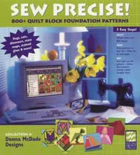 Electric Quilt Sew Precise Collection 4