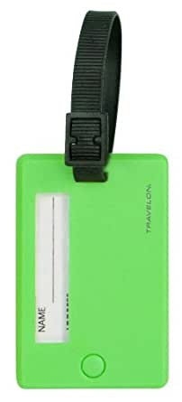 Travelon Set Of 2 Tags, Neon Green, One Size