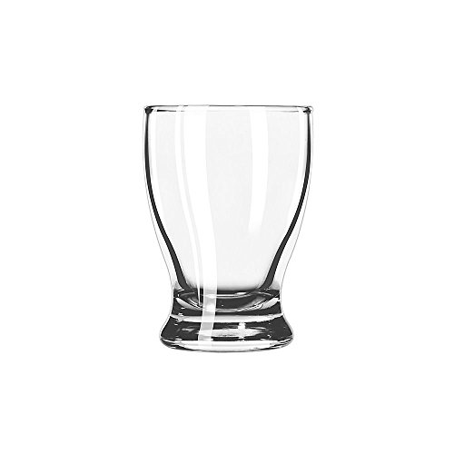 - SET of 6, Libbey 12266 Atrium 5 oz Juice Glass w/ Signature Party Picks