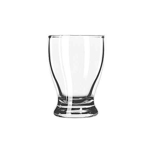 SET of 6, Libbey 12266 Atrium 5 oz Juice Glass w/ Signature Party Picks
