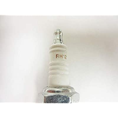 Champion 537 RH12 Copper Plus Spark Plug Pack of 4: Automotive